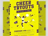 Free Cheerleading Tryout Flyer Template Cheer Tryouts Flyer Template Flyerheroes