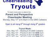Free Cheerleading Tryout Flyer Template Cheerleading Quotes for Flyers Quotesgram