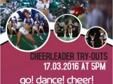 Free Cheerleading Tryout Flyer Template Customize Cheerleading Poster Templates Postermywall