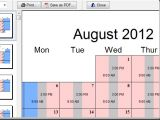 Free Child Custody Calendar Template Printable Custody Calendar Template New Calendar