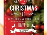 Free Christmas Brochure Templates 30 Christmas Free Psd Holiday Card Templates for Design
