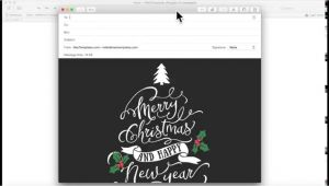Free Christmas Card Email Templates Mac Christmas Card Email Template for Apple Mail Stationary