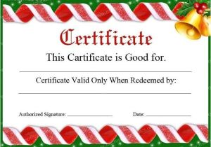 Free Christmas Gift Certificate Template Gift Certificate Template Free Holiday Map Q
