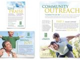 Free Church Brochure Templates for Microsoft Word Christian Church Flyer Ad Template Word Publisher