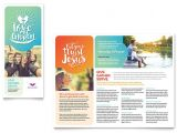 Free Church Brochure Templates for Microsoft Word Church Brochure Template Design