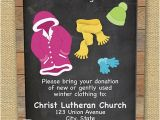 Free Clothing Store Flyer Templates Clothing Drive Flyer Chalkboard Design Care and Share