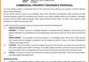 Free Commercial Insurance Proposal Template Commercial Insurance Proposal Resume Papers