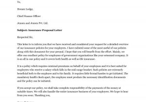 Free Commercial Insurance Proposal Template Health Insurance Proposal Template Best Template Idea