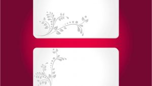 Free Complimentary Cards Templates Floral Cards Templates Vector Art Graphics Freevector Com