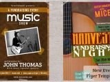 Free Concert Flyer Templates Word Concert Flyers Templates Downloads Prints Postermywall