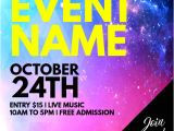Free Concert Flyer Templates Word Customize Amazing Party Flyers In Minutes Postermywall