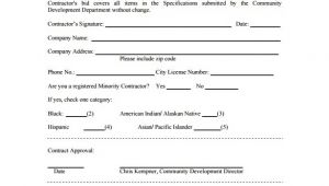 Free Construction Bid Proposal Template Download Bid Proposal Templates 19 Free Word Excel Pdf