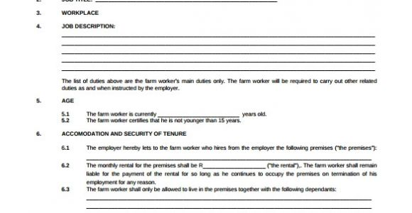 Free Contract Of Employment Template Uk 23 Sample Employment Contract Templates Docs Word
