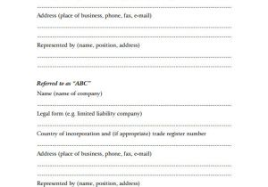 Free Contract Templates for Small Business 11 Investment Contract Templates Free Word Pdf