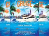 Free Cruise Ship Flyer Template Cruise Party Premium Flyer Template Facebook Cover