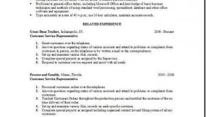 Free Customer Service Resume Templates Customer Service Resume Occupational Examples Samples