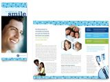 Free Dental Brochure Templates Dentistry Dental Office Brochure Template Word Publisher