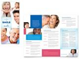 Free Dental Brochure Templates Family Dentistry Tri Fold Brochure Template Word Publisher