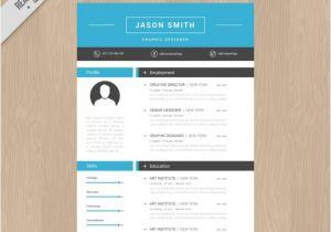 Free Download Creative Resume Templates Creative Resume Template Vector Free Download