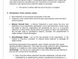 Free Downloadable Business Plan Template Free Business Plan Template Samples and Templates