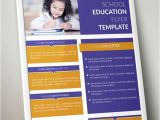 Free Educational Flyer Templates Free Standing Education Flyer Template Psd Titanui