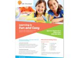 Free Educational Flyer Templates Preschool Education Flyer Template