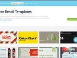 Free Email Advertising Templates 5 Best Free Email Marketing Templates social Media