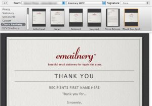 Free Email Stationery Templates for Mac Emailnery Classic Letterhead for Mac Free Download