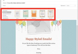Free Email Stationery Templates for Mac How to Use Stationery In Mail for Mac to Stylize