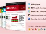 Free Email Templates for Mailchimp Jumpmail Premium Email Template Mailchimp and