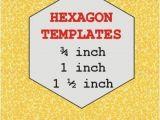 Free English Paper Piecing Hexagon Templates English Paper Piecing Hexagon Templates Craftsy