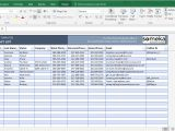 Free Excell Templates Contact List Template In Excel Free to Download Easy