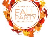 Free Fall event Flyer Templates Copy Of Fall Party Flyer Template Postermywall
