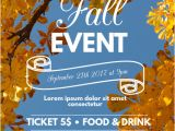 Free Fall event Flyer Templates Fall event Flyer Template Postermywall