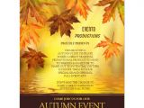 Free Fall event Flyer Templates Fall Party and event Flyer Template Zazzle