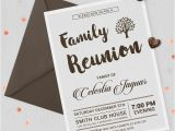 Free Family Reunion Invitations Templates Download 32 Family Reunion Invitation Templates Free Psd Vector