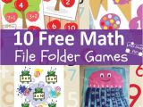 Free File Folder Game Templates 2nd Grade File Folder Games Printables 2nd Grade Math