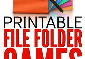 Free File Folder Game Templates 75 Free Printable File Folder Games for Kids From Abcs