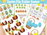 Free File Folder Game Templates Easter Worksheets Lower Case Letters and Activity Games