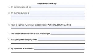 Free Fillable Business Plan Template Small Business Plan Template 9 Download Free Documents