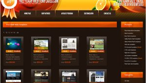 Free Flash Site Templates 30 Sites that Offer Free Website Templates and Free Flash