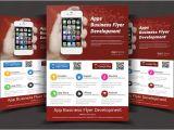 Free Flyer Design Templates App App Flyers Flyer Templates Creative Market
