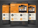 Free Flyer Design Templates App Mobile App Flyer Template Flyer Templates Creative Market