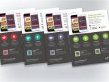 Free Flyer Design Templates App Mobile App Promotion Flyers Flyer Templates Creative