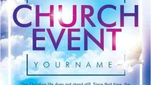 Free Flyer Templates for Church events Church event Psd Flyer Template Free Download Photoshop
