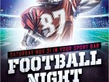 Free Football Flyer Design Templates Download Free Football Sports Flyer Template