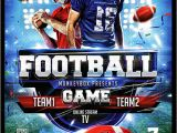 Free Football Flyer Design Templates Spectacular Football Flyer Template 14 Download