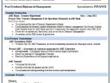 Free Fresher Resume format Resume format for Mba Finance Fresher 1 Resume format