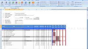 Free Gantt Chart Template for Excel 2007 Gantt Chart Excel Templates