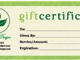 Free Gift Certificate Template with Logo Business Gift Certificates Uprinting Com